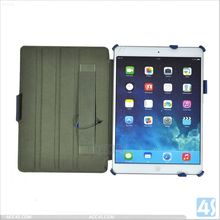 Hand Holder Stand Leather Tablet Case with Pen for Apple iPad 5 P-IPD5CASE008