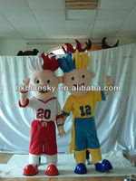 2012 World Cup professional cartoon character costumes