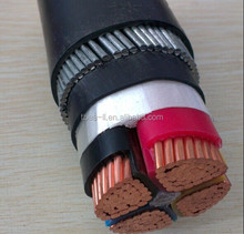 0.6/1kV XLPE Insulated, PVC Sheathed Galvanized Steel Wire Armoured Electric cable