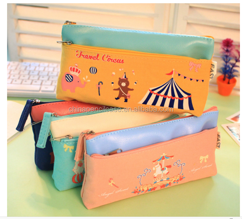 Pencil Case Silica Gel Cute School Supplies Bts Stationery Gift School Cute Pencil Box Pencilcase Pencil Bag children school bag
