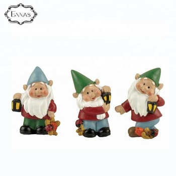 Custom Resin Garden Gnomes Statues with magnet
