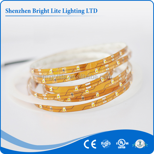 2015 Hot sale smd 3528 Nonwaterproof IP20 Red 60LED UL certificate battery powered led strip light for cars
