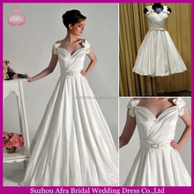 SD1416 elegant 2014 satin wedding dress cheap wedding dresses under 100