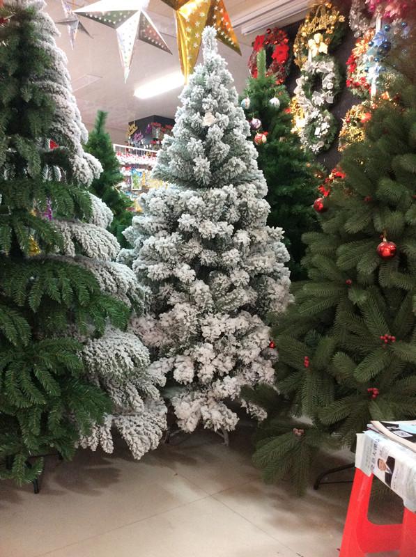 Xibao Brand 150cm Artificial Snowing Christmas Tree High