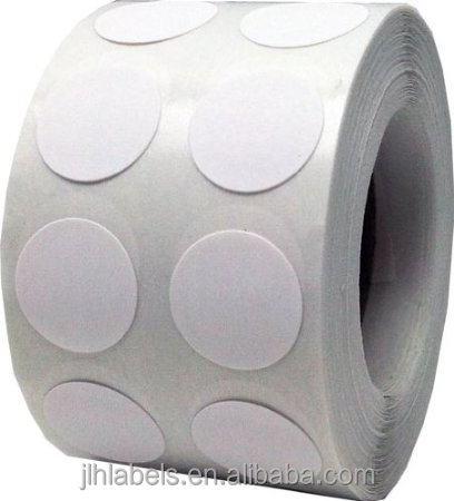 "Permant glue,1/2"" Half Inch Round Fluorescent Color Code Dot Stickers Inventory Labels 1,000 Per Roll"