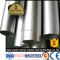 harga pipa besi excellent 304 food grade stainless steel pipe price
