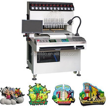 12 Color Full Automatic Liquid PVC plastic dispensing machine