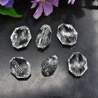 Fashion decorative crystal glass bead treasure