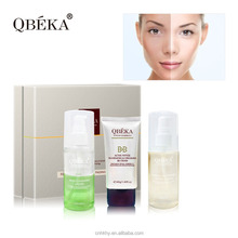 QBEKA ferment polypeptide fading serum cheap makeup set natural facial kits