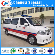 Emergency rescue van truck China Patient transport ambulance truck for sale