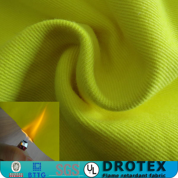 Soft non formaldehyde durable flame resistant fabric / woven aramid fabric
