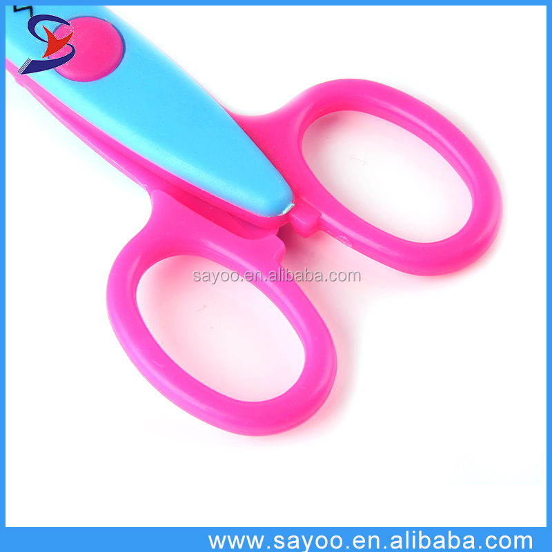 Top selling custom decorating paper photo cutting lace scissors