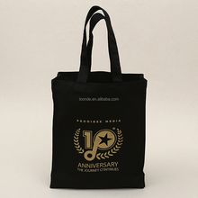Reusable tall gold stamping lady hand carry bag for gift