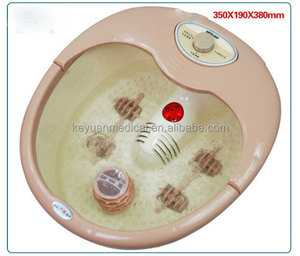 Electric Multi-function Plastic Spa Pedicure Foot Massage Tub