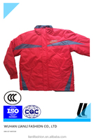 hi-vis winter padded outdoor windproof jackets