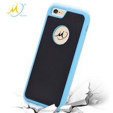2017 Hot Selling TPU Nano Paster Anti Gravity Phone Case Back Cover for iPhone X
