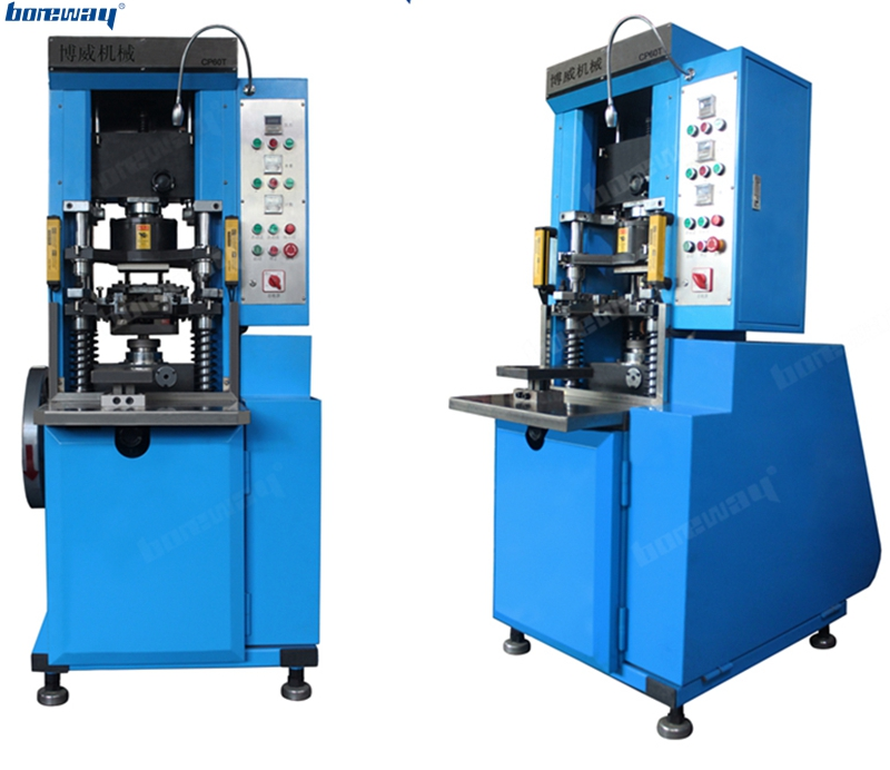 Brand new automatic mechanical cold press machine for metal diamond powder