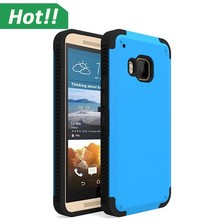 Ultra-thin Hybrid Shockproof Armor Hard Protective Case Back Cover For HTC ONE M9
