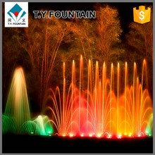 Multicolor Lights Floor Dry Fountain Garden Fountain Water Ornaments