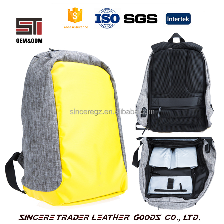 high quality anti theft military day backpack travel casual bag with charger 17SA-6006M