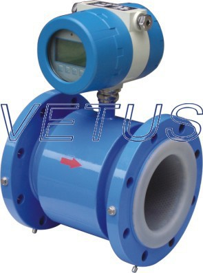 digital/intelligent electromagnetic waste water flow meter with RS485/Modbus
