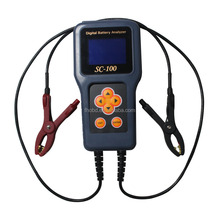 MST SC-100 Car Digital Battery Analyzer SC 100 With LCD Screen For 12V Car Battery Tester