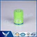 Custom decorative design green plastic top-opening cap for wine bottles