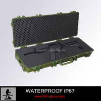 hot sale high quality handle plastic equipment military carring gun case 1362*406*172mm