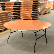 18mm Plywood Table Dining 6ft Round Rectangular Banquet Folding Table