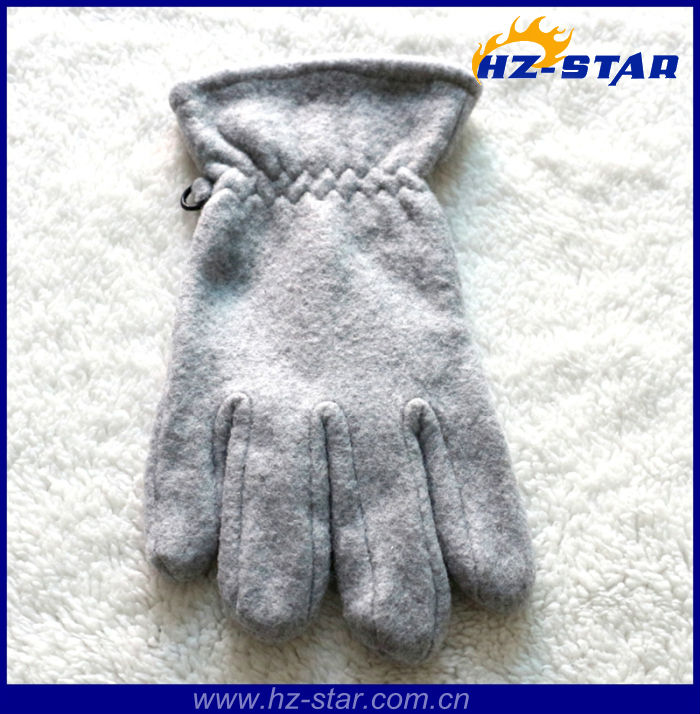 HZS-210570 200g normal fleece lady man china yiwu ski cheaper gloves work
