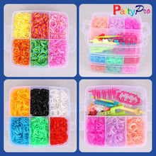 Where to Buy Loom Bracelets Colorful Round Strong Elastic Rubber Bands
