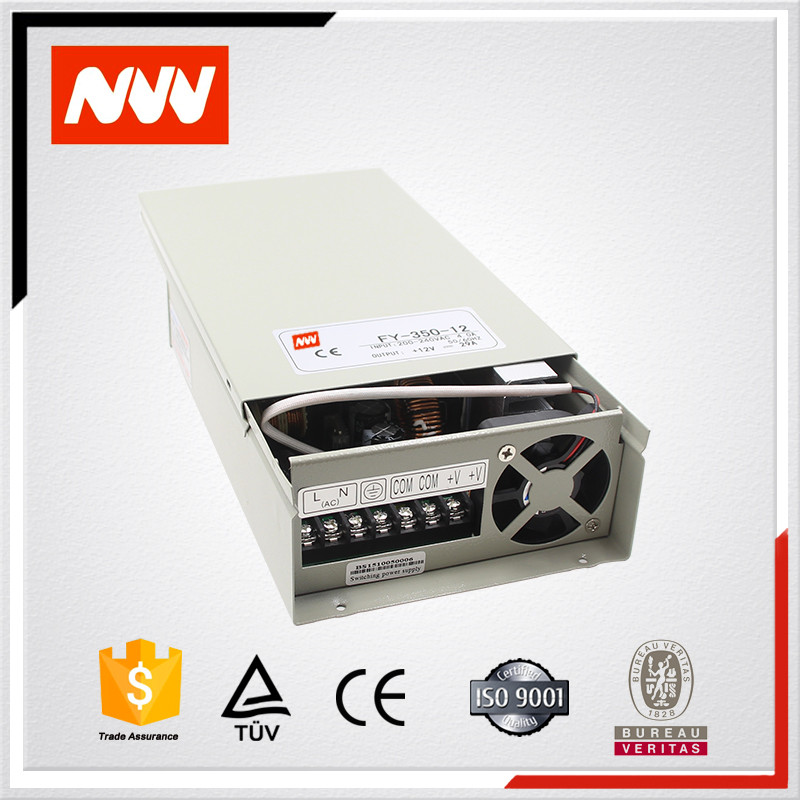 Factory direct 350w 12v 15v 24 rainproof rain-proof IP44 FY-350-25 power supply
