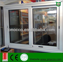 Aluminium frame sliding glass window with high quality hardware AS2047/AS1288 Australian Standard PNOC0002SLW