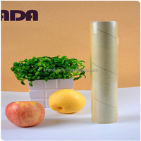 China made Top color pvc cling film transparent shrink wrap stretch film