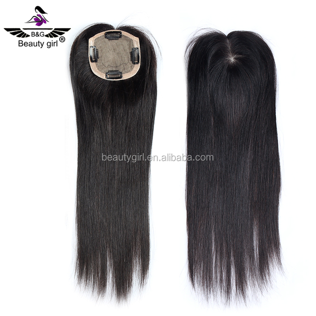Guangzhou wig super fine swiss lace wig natural straight human hair topper wig