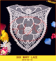 100% COTTON SWISS EMBROIDERY LACE COLLAR