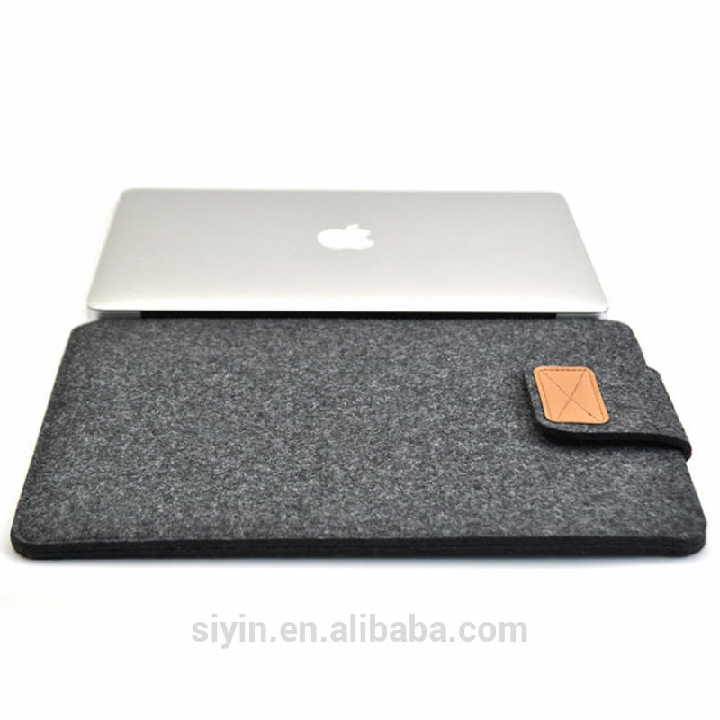 "Soft Felt Laptop Sleeve Case Cover Bag For MacBook Air Pro 11"" 13"" 15"""