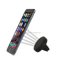 magnetic silicon phone holder for SamsungS7 cell phone;custom logo expanding magnet car phone holder;car holder mounting magnets