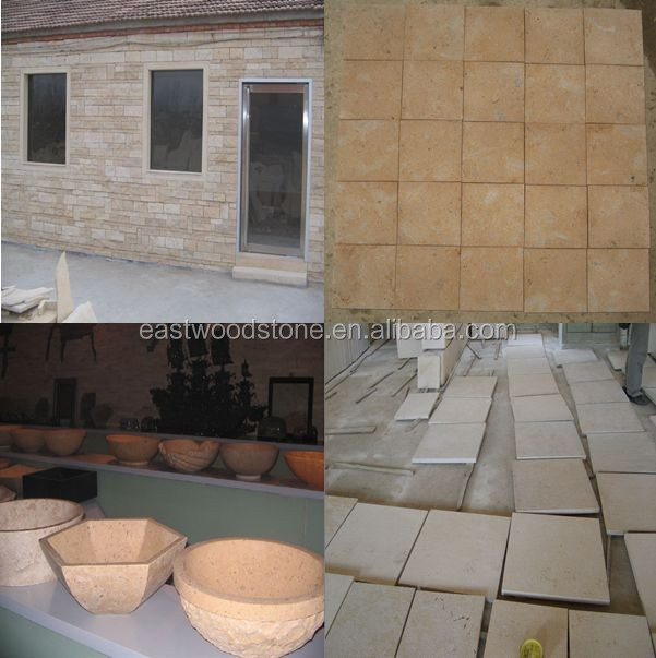 Blue Limestone, Yellow Limestone, Black Limestone, Beige Limestone and other color limestone