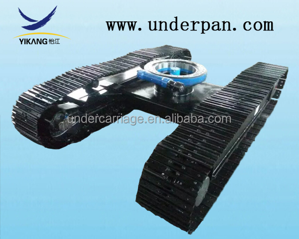 double rubber / steel track excavator undercarriage parts