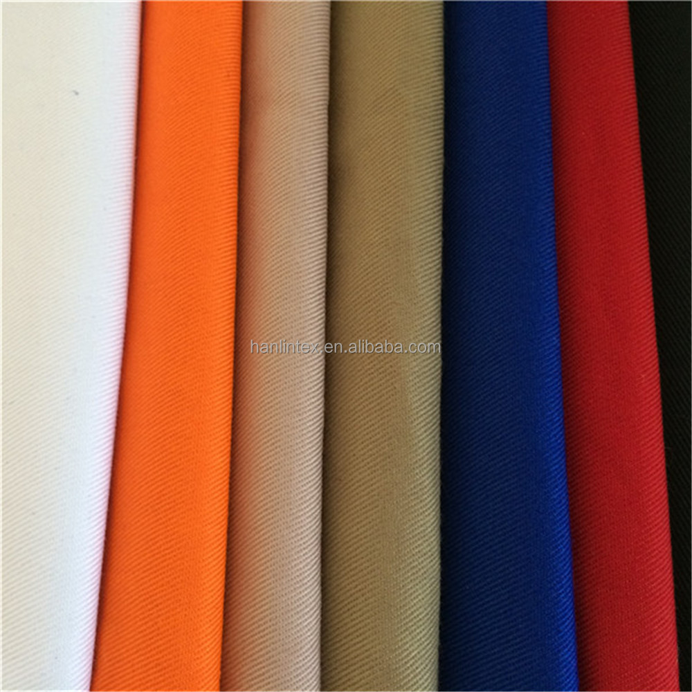 Hebei Hanlin Tex T/C 65polyester 35cotton fabric Workwear Uniform apron fabric
