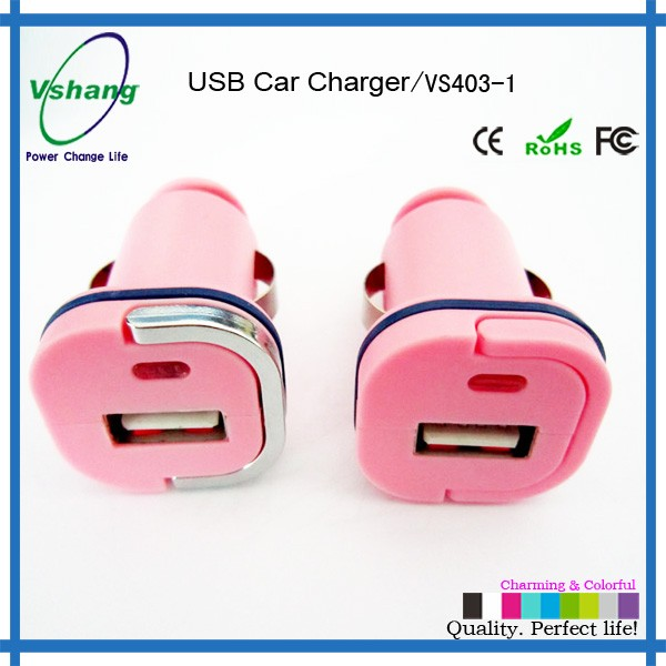 Car Charger Electric Type and Mobile Phone Use Car Charger