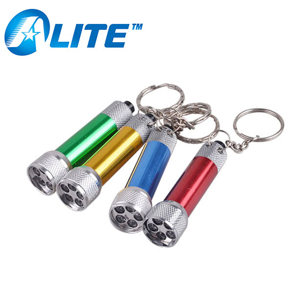 Hot Sell Advertising Usage Aluminum Mini Flashlight LED Key Chain
