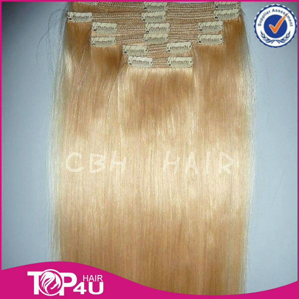 Wholesale best quality 100% virgin remy hair pieces for top of head with clip