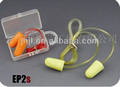 Yellow/ Orange PU foam Ear Plug