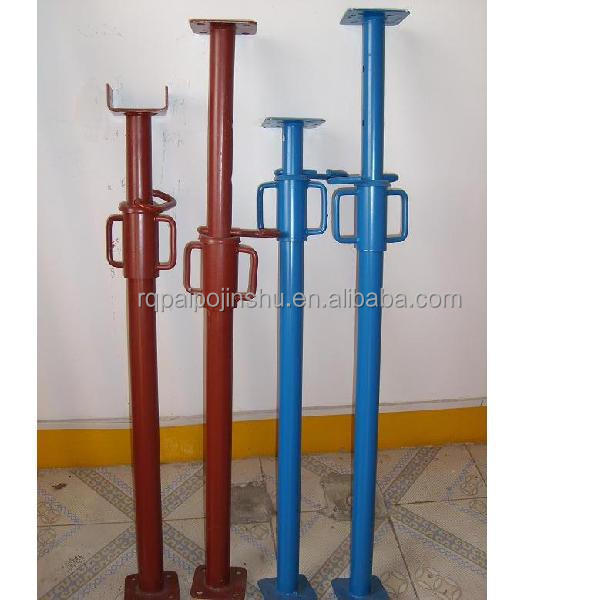 Alu Clamp Shoring Prop : Heavy duty adjustable steel shoring props for form work