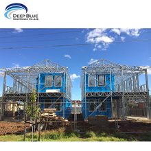 Australia Standard Light Prefabricated Gauge Steel Frame House