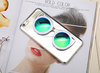 2016 3D Newest sun glass style TPU cover with sunglass stander holder mobile phone case for iPhone 5/ 5s/ 6 /6s/ 6 plus