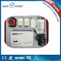 Good quality wireless gsm digital home security alarm system
