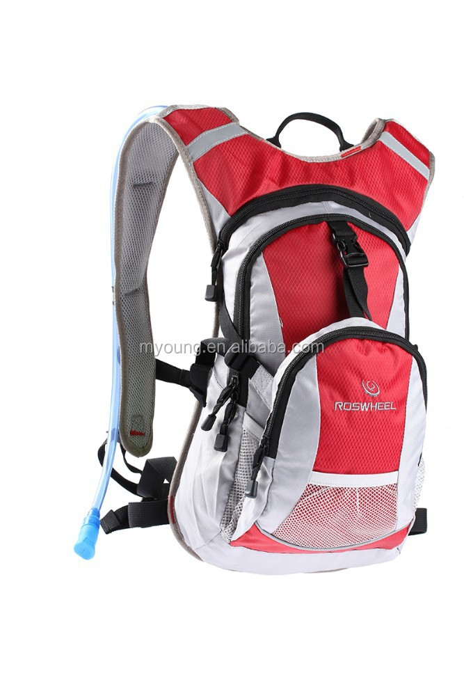 wholesale Mountain Climbing Hiking cycling Camping Bag Backpack With Free Rain Cover
